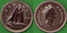 1999 Canada Dime Graded as Specimen From Original Set