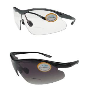 Bifocal Cycling Wrap Around Sunglasses 100% UV Protection Integral Lens