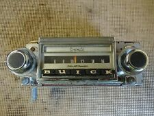 1969 Buick Skylark GS 350 400 Stage 1 Special Sport Wagon Factory AM Radio