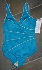 NWT $150 Womens Jade Green MIRACLESUIT  SWIMSUIT Bathing Suit Size 10