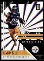 2018 PANINI UNPARALLELED SHINE LE'VEON BELL PITTSBURGH STEELERS #165