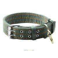 Durable Nylon Pet Dog Necklace Collar Leads Buckle Adjustable L XL for Large Dog