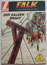 "Falk GB Großband 51 ""Der Galgen droht"" Original Lehning"