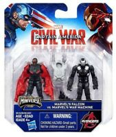 Capitaine America Civil War Falcon et War Machine Hasbro