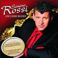 """SEMINO ROSSI """"DIE LIEBE BLEIBT"""" CD 15 TITEL NEW+"""