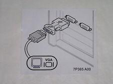 oj8461 Dell DVI male to VGA female Adapter NEW! Buy 3 get 1 free USA seller!
