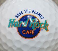 (1) Hard Rock Cafe Restaurant Logo Golf Ball Save The Planet