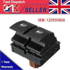 Driver Side Electric Window Switch 1Z0959858 For Skoda Fabia Mk2 06-14 Roomster