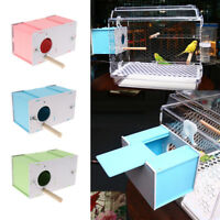 Small Cage House Breeding Box Nest For Bird Parrot Cockatiels Supplies