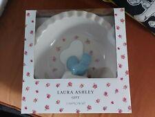 Laura Ashley Ceramic Round Pie Baking Dish & Cockerel Pie Funnel Set