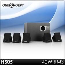 (B-WARE) 5.1 DESIGN HEIMKINO SURROUND ANLAGE LAUTSPRECHER SUBWOOFER SYSTEM BOX S