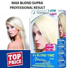 Los Mejores Nuevos Max cabello lacio rubio Blanqueador Aclarador Kit Profesional resultado n ° Amoniaco