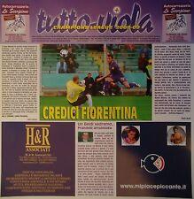 Programma tutto-Viola UEFA CL 2008/09 Fiorentina-il Bayern Monaco