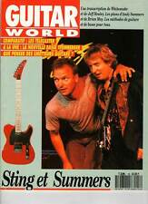 "GUITAR WORLD #18 ""Sting/A.Summers,J.Page,Vandenberg,Wooloff,J.Healey"" (REVUE)"
