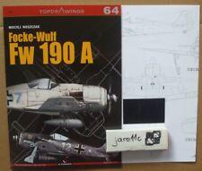 Focke-Wulf Fw 190 A - TopDrawings, KAGERO + Free Mask Foil *N*E*W*