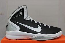 Nike Hyperdunk 2010 TB Basketball Shoes Black/White/Silver 407627-001 Brand New