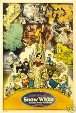 Snow White & the 7 dwarfs #16 cartoon movie poster