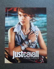 H408 - Advertising Pubblicità - 2013 - JUST CAVALLI , TIME & JEWELS