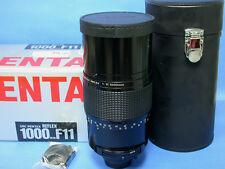 Pentax SMC Reflex 1000mm f:11 Mirror Tele Lens - NIB