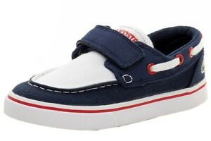 Lacoste Toddler Boy's Keel 116 2 Fashion Loafers Boat Shoes
