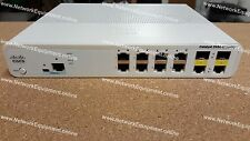🔥 Cisco WS-C2960C-8TC-L Switch 2 x Dual Purpose Uplink LAN Base 2960C-8TC-L