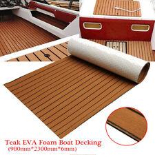 900x2300x6mm EVA Teak Suelo Piso de Teca Espuma Alfombra Para Barco Yate Yacht