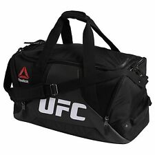 Reebok Combat Grip UFC Fitness & Training Duffle Sport Bag Large Unisex Black