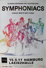 SYMPHONIACS - 2017 - Konzertplakat - Vivaldi / Daft Punk - Tourposter - Hamburg