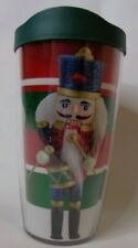 Tervis Christmas Nutcracker Insulated Tumbler Cup Lid 16 ounce Hot Cold Coffee