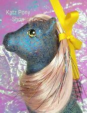 HQG1C Sea Glimmers Custom G1 Vintage MLP Style Sea Pony 💙SAPPHIRE SPARKL💙 MIP!