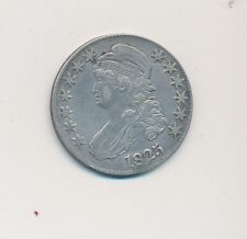 1825 CAPPED BUST SILVER HALF DOLLAR -GREAT LOOKING COIN!-CIRCULATED-SHIPS FREE!