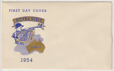 AUSTRALIA  1954: 'unserviced' FDC by GUTHRIE for Royal Visit issue (2030)