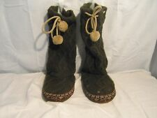 WOMEN'S OPS HIGH BROWN BOOTS SIZE SMALL(5-6) MADE IN CHINA 3300