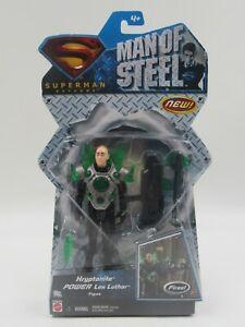 Superman Returns Man of Steel Kryptonite Power Lex Luthor Action Figure Mattel