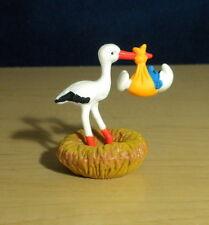 Smurfs Stork in Nest Baby Super Smurf Rare Vintage Figure Schleich Toy Lot 40248
