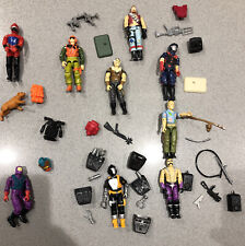 Gi joe 1980s Figures And Accessories Lot