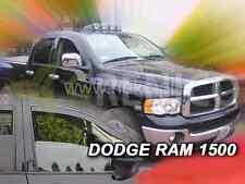 DODGE RAM 1500 4-portes 2002-2008 Deflecteurs de vent 2-pcs HEKO Bulles