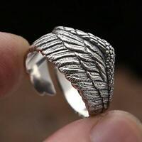 Flügelringe für Frauen Mode Einfache Metall Fingerring Hochzeitsschmuck
