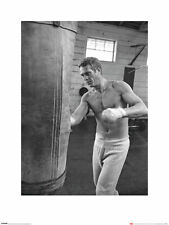 Time Life Steve McQueen - Boxing Art Print 60 x 80 cm Officially Licensed
