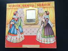 RARE joli album Mulder Zoon Miroir Gentil Miroir Blanche neige