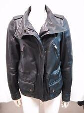 giacca jacket giubbotto donna vera pelle Zara Woman taglia M