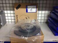 Genuine Volvo Two Rear Solid Brake Discs S60/V70/S80/V60 Just discs