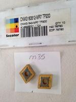 10 NEW SECO CNMG 543-MR7 CARBIDE INSERTS. CNMG 160612-MR7 GRADE TP200.  {M35A}