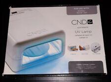 CND UV LAMP MODEL 08200 USE WITH SHELLAC BRISA GEL 5 FINGER MANI PEDICURE NEW