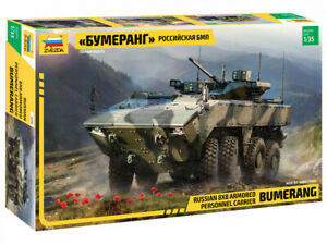 Russian 8x8 Armored Personnel Carrier Bumerang3696 ZVEZDA 1:35 New !