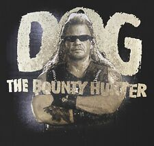 2007 Dog The Bounty Hunter TV Show Promotional T Shirt Size XL Crime Reality