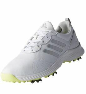 Adidas Womens Response Bounce F33664 Golf Shoes White 6 Medium New in Box #71889