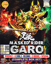 Masked Rider Garo Season 1 - 4 (Vol. 1-99 end ) + 3 Movie + Special ( Eng Sub)