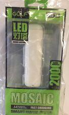 Power Bank Battery Pack With Flashlight Lantern