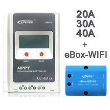 20A 30A 40A MPPT Régulateur Contrôleur Charge Batterie Solaire 100V Entrée GA